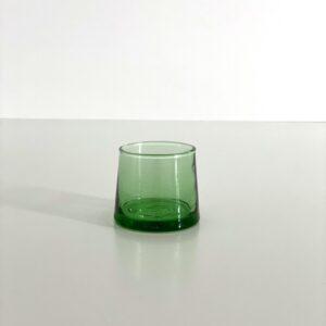 mundblæst glas genbrugsglas til shots snaps og fyrfadslys