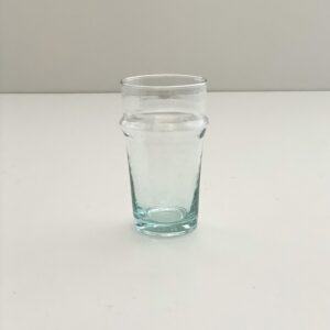 mundblæst glas i genbrugsglas til the