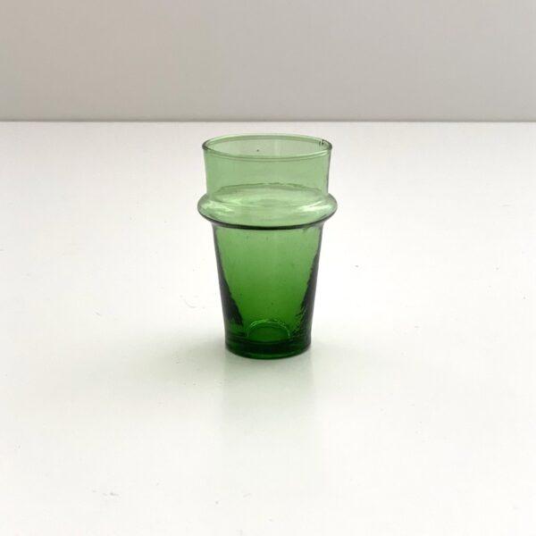 marokkansk genbrugs glas til the