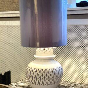 håndlavet keramiklampe