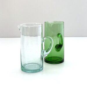vandkander mundblæst glas