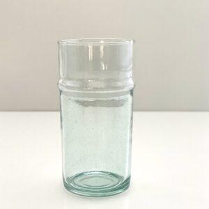 mundblæst genbrugsglas vase