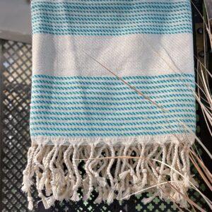Hammam badehåndklæde øko bomuld