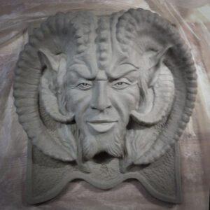 Väggskulptur