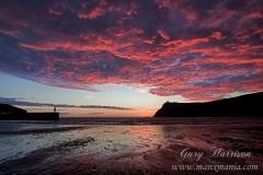 Port-Erin-Red-Sky