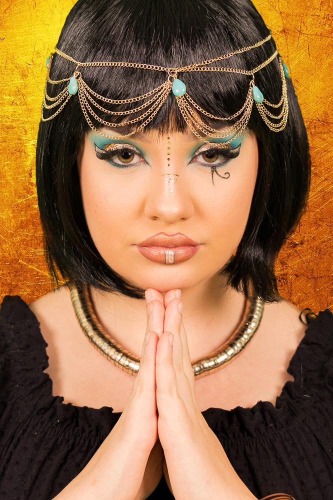 Fotoshooting Cleopatra