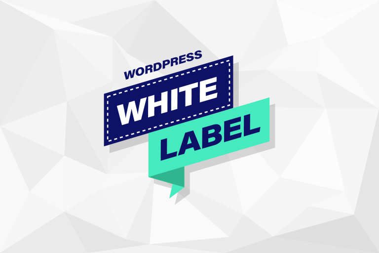 White Label je WordPress website