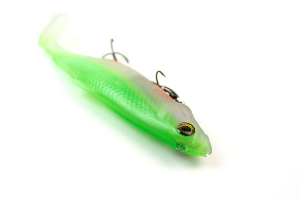 Fella Deluxe Shad - Ghost Green