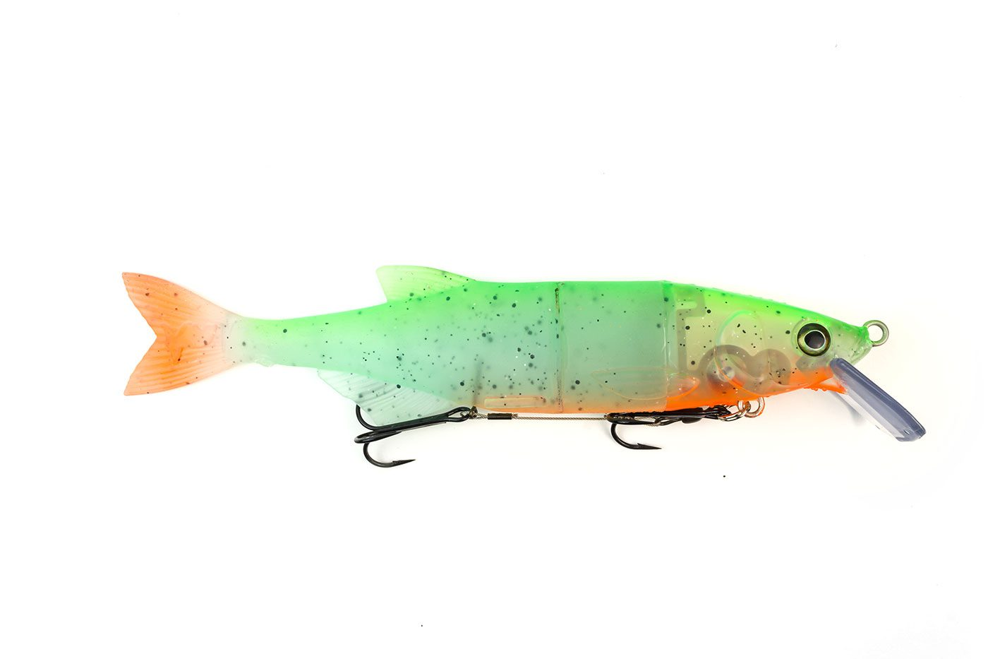 Hybrid Swimbait - Ghost Green
