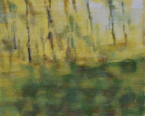 The woods II Oil on canvas (40 x 50 cm)