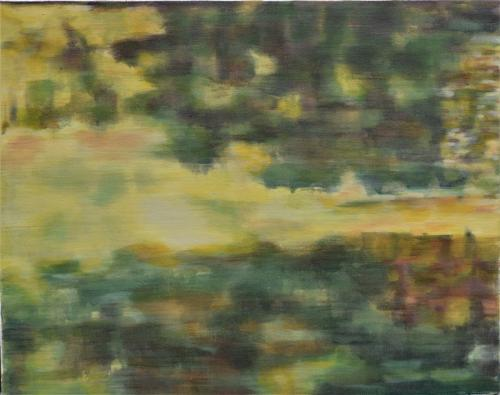 The woods I Oil on canvas (40 x 50 cm)