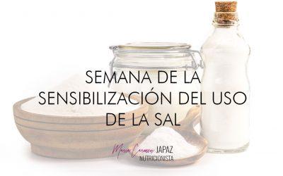 Semana sensibilización del uso de la sal