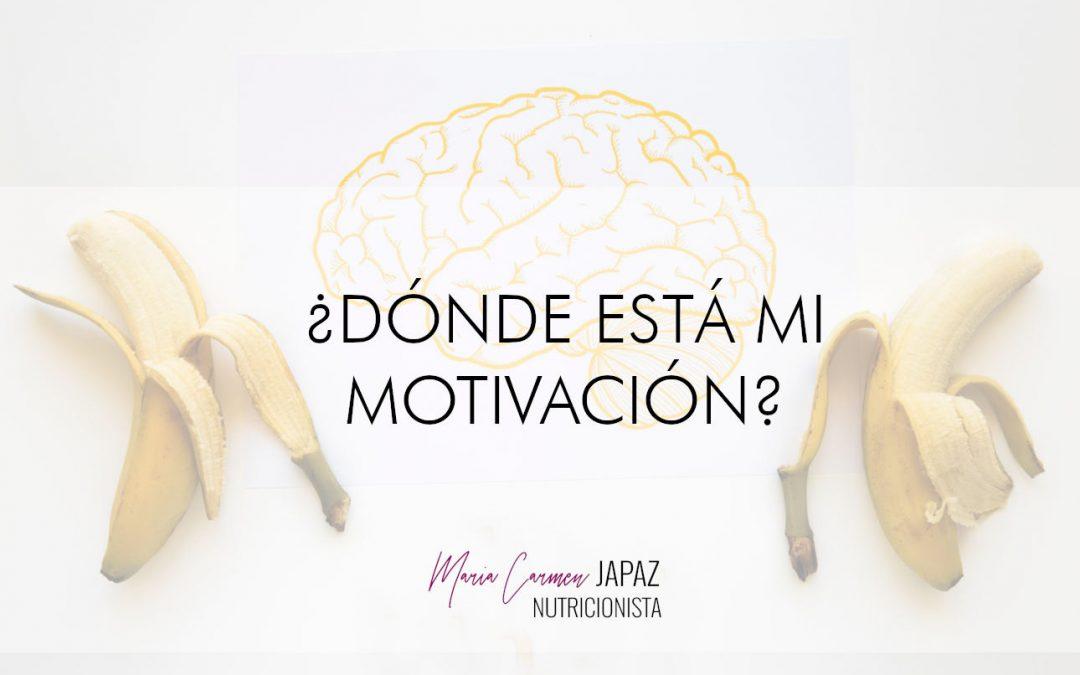 ¿Donde está mi motivación?
