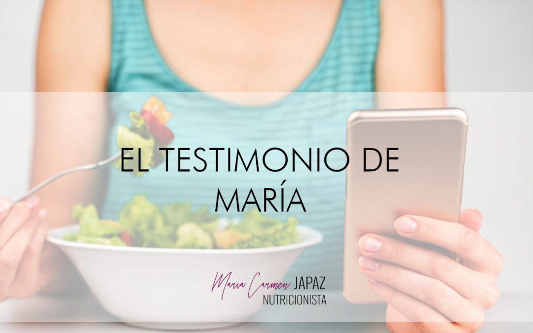 EL TESTIMONIO DE MARÍA