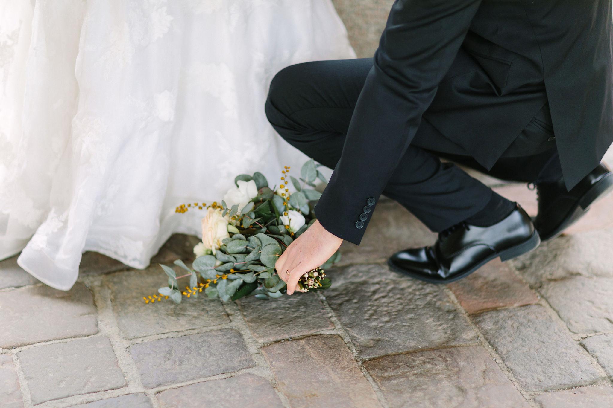 Bröllopsfotografering i Stockholms Stadshus