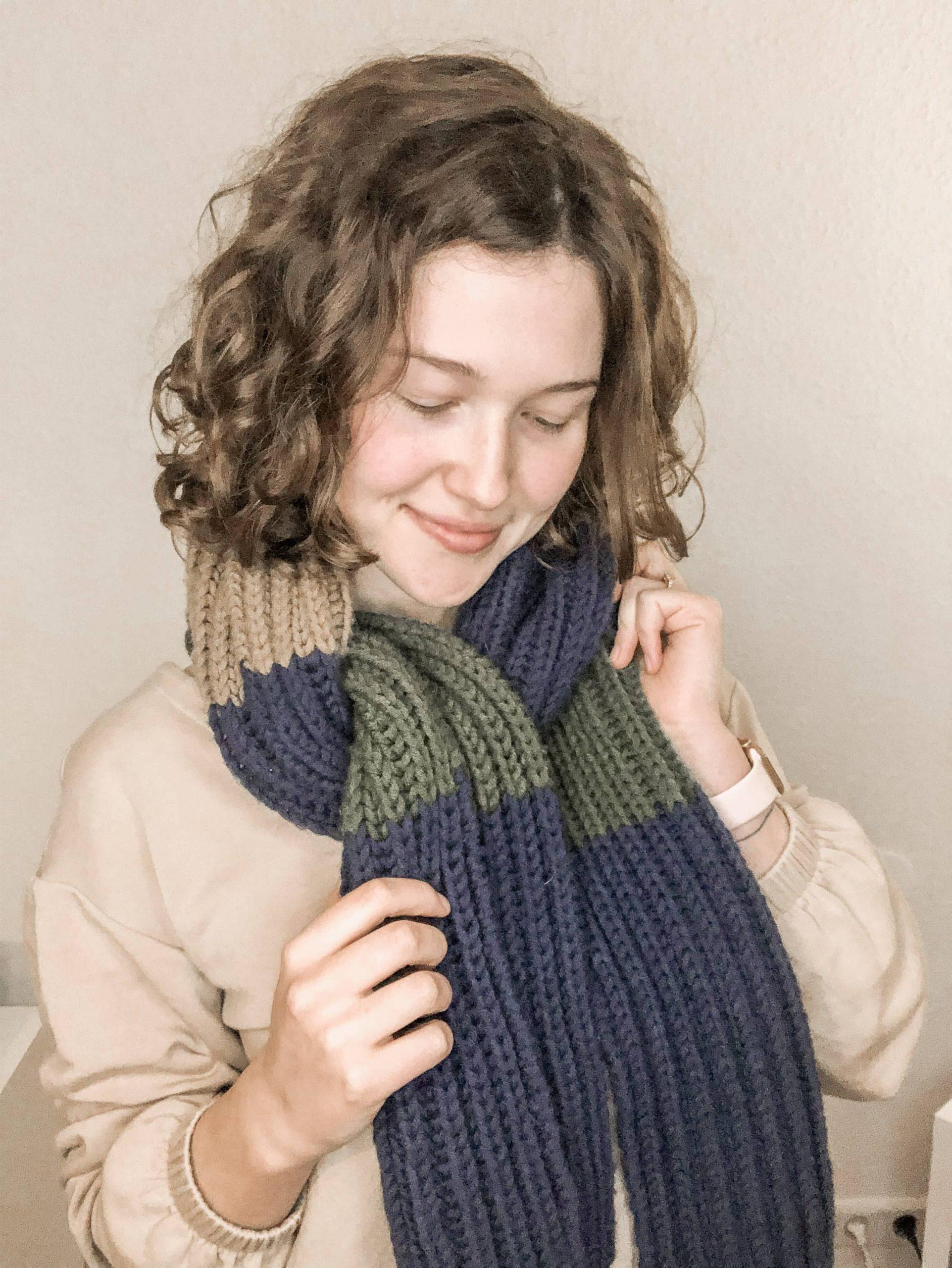 Dein erstes Strickprojekt: Schal stricken