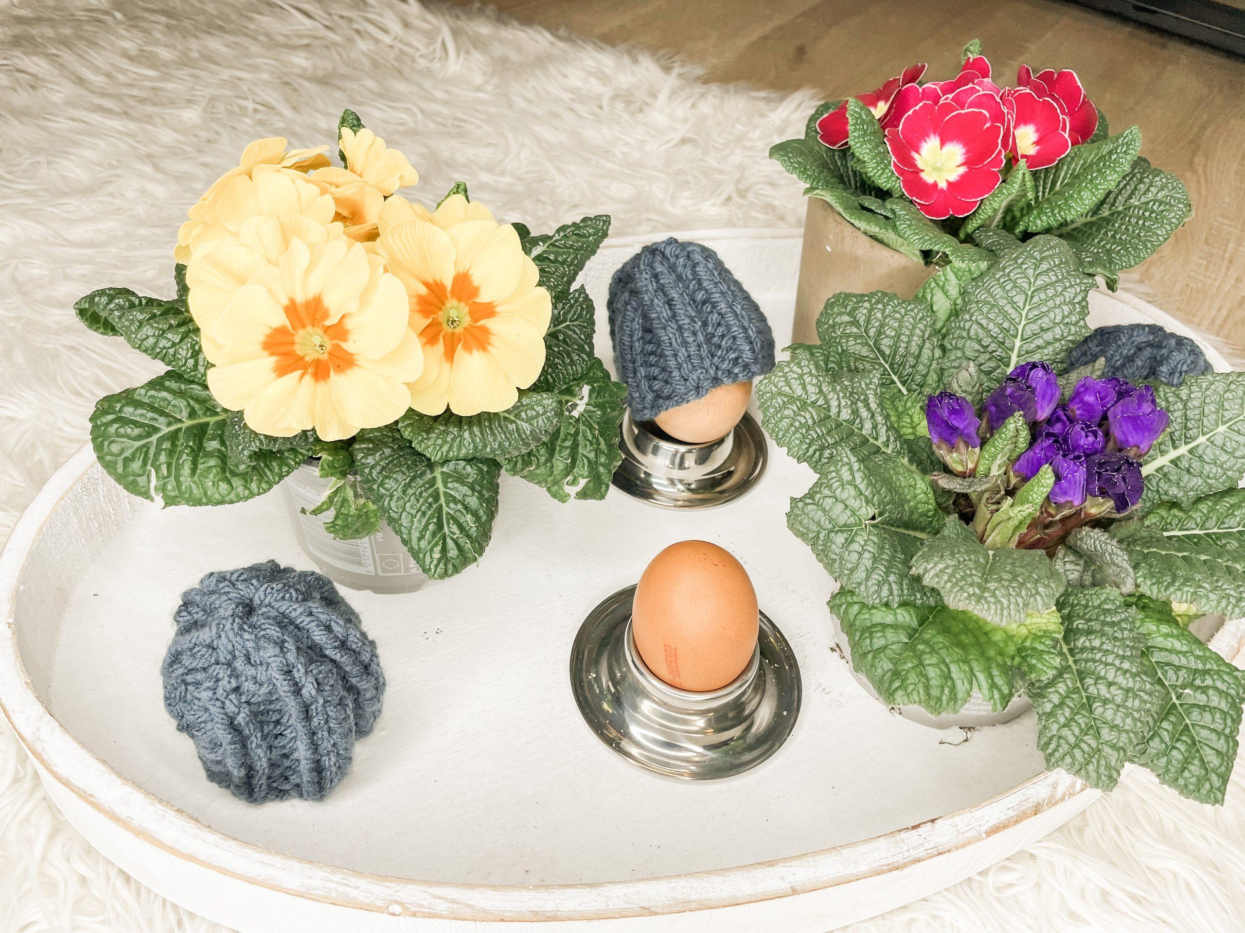 Eierwärmer stricken für Anfänger