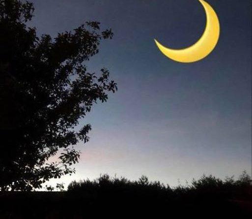 Bild på månen