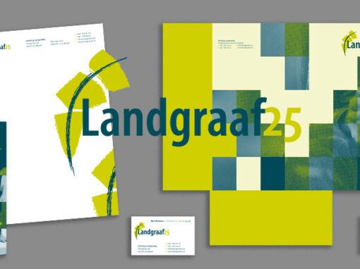 Landgraaf25 logo en huisstijl