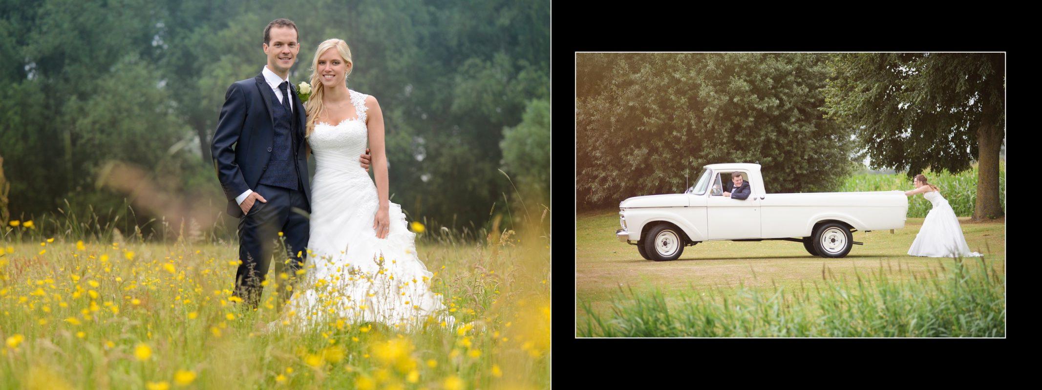 Marijn Fotografie album auto veld bloemen