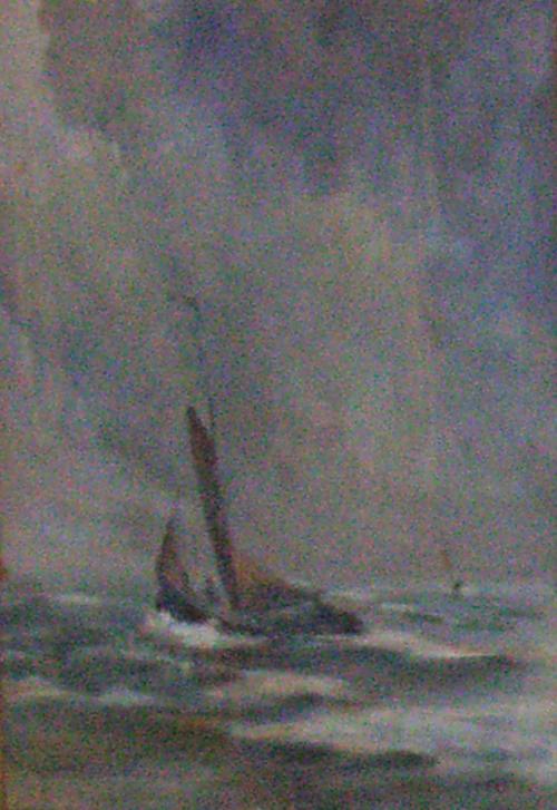 zeilboot  (vroeg werk)