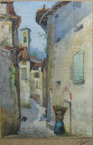 Bassogno aquarel 1911