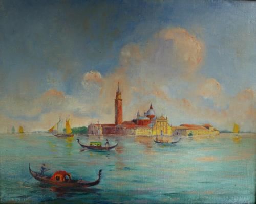 Venetie olieverf