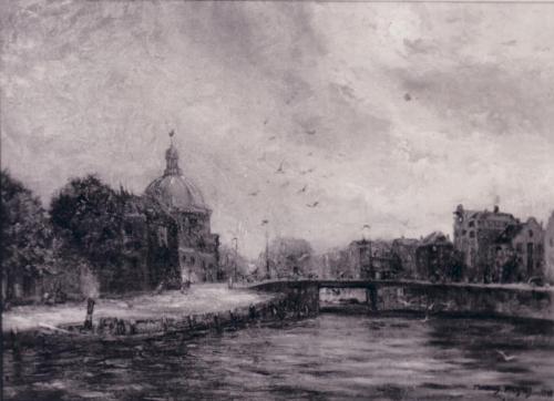 434 Lutherse Kerk Amsterdam, Volgens aantekening Marinus Heijnes eigendom van Estelle Bernadotte