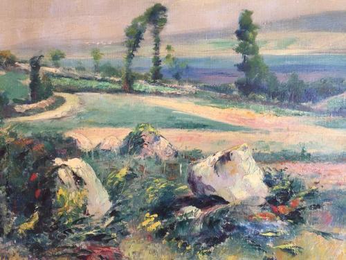 Catawiki april 2020, oorspronkelijk uit de nalatenschap van de schilder Douarnenez Frankrijk
