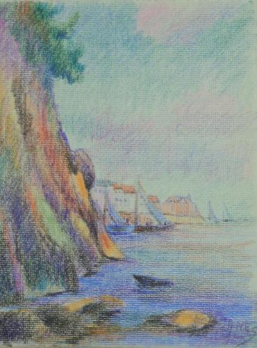 heijnes pastels schetboek