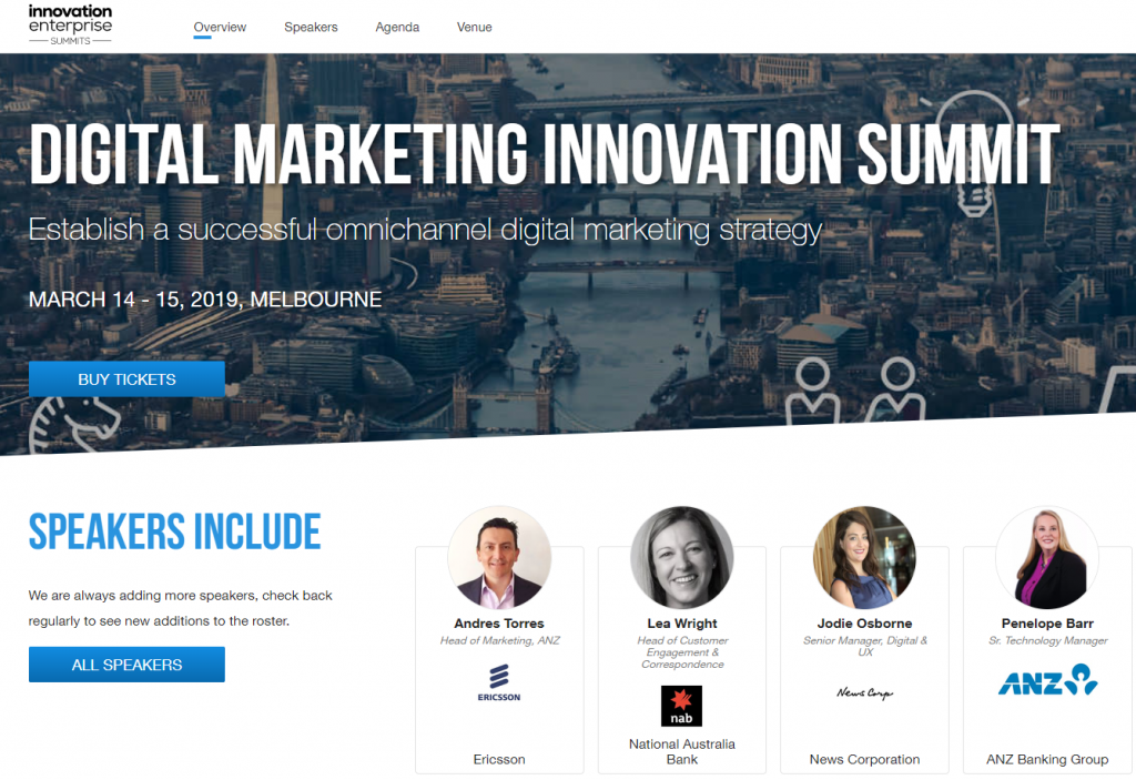 Digital Marketing Innovation Summit