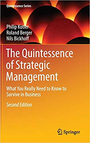 The quintessence of strategic management. What you really need to know to survive in business