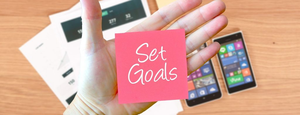 Break down your mission into goals