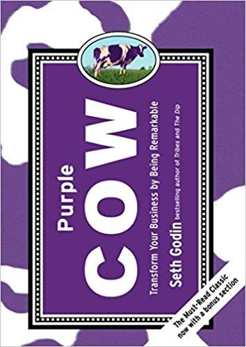 Purple cow book cover