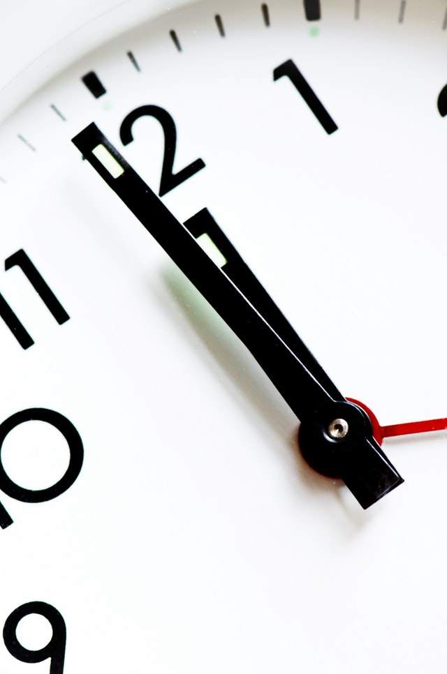 Organize your time properly