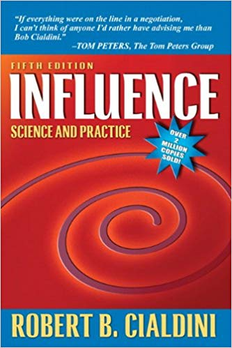 Influence Science and Practice Book Cover