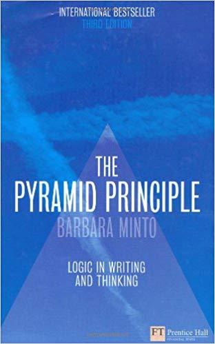 Minto Pyramid Book Cover