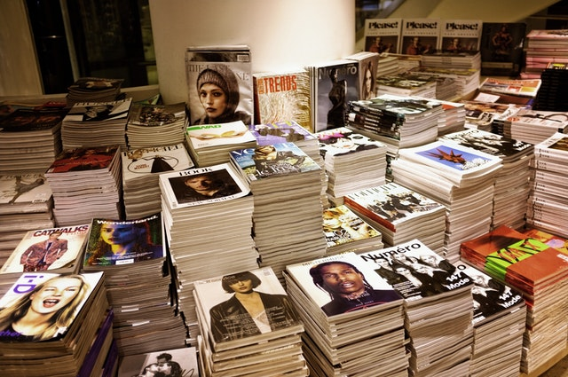 """At its root, the word """"magazine"""" refers to a collection or storage location"""