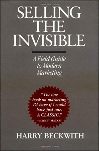 Selling the invisible book cover