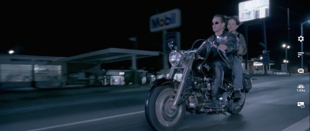 Terminator 2 Judgment Day. Mobil