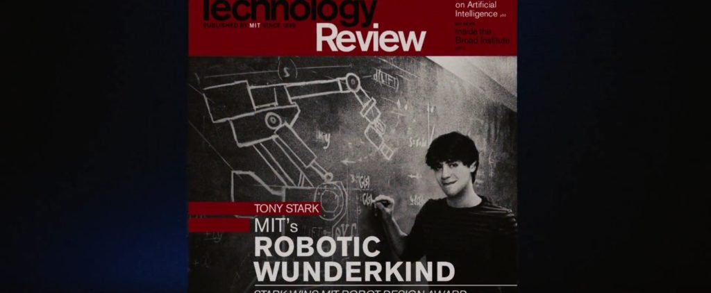 Technology Review Magazine_Iron Man