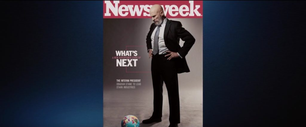 Newsweek Magazine_Iron Man