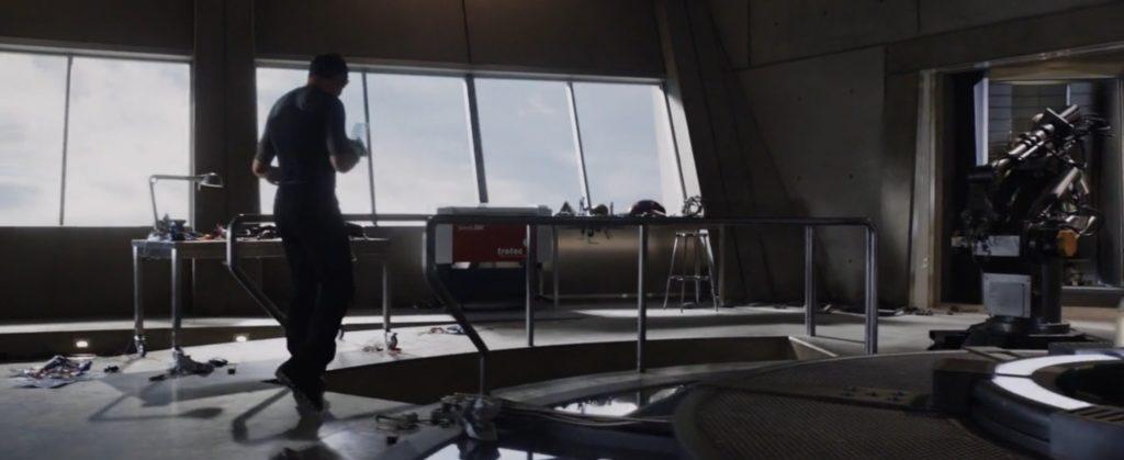 Trotec Laser Engraver_Iron Man 3