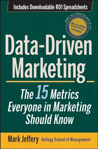 Data-driven marketing book cover