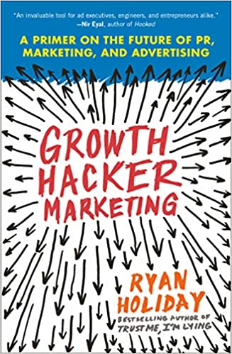 Growth Hacker Marketing Book Cover