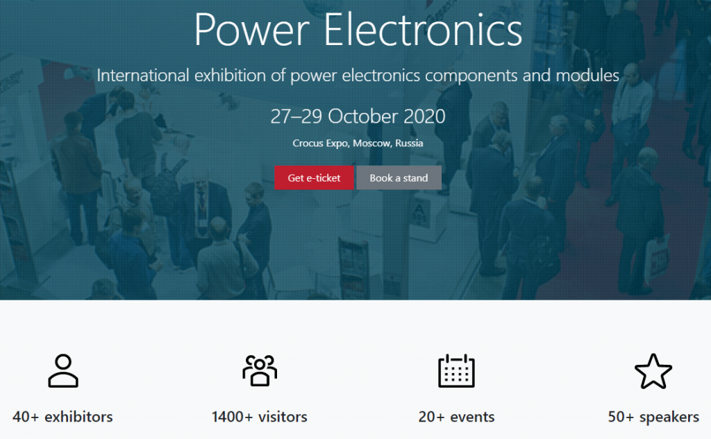 Power Electronics Trade Fair in Moscow