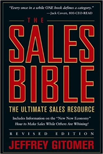 Sales Bible Book Cover