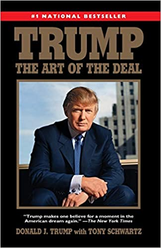 Trump. Art of the deal book cover