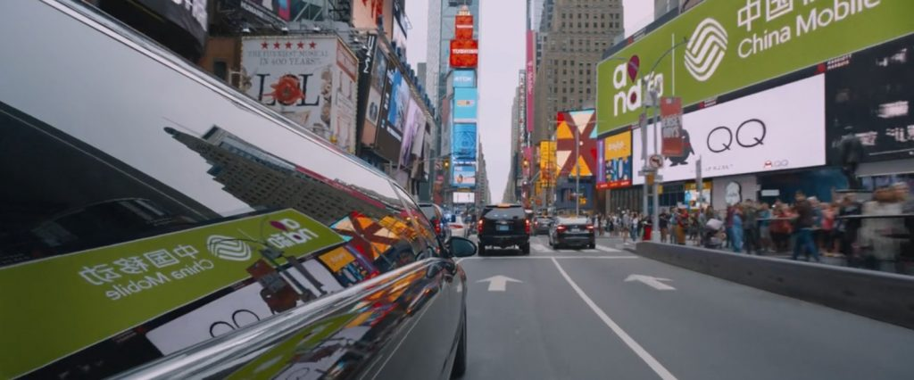 Times Square Brands The Fate of the Furious