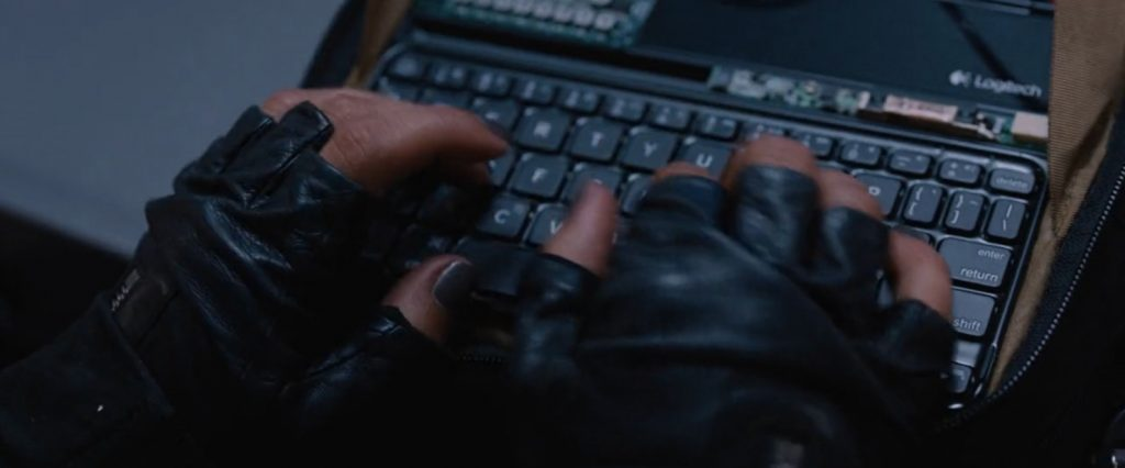 Logitech keyboard The Fate of the Furious